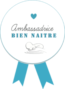 Badge ambassadrice bien naître